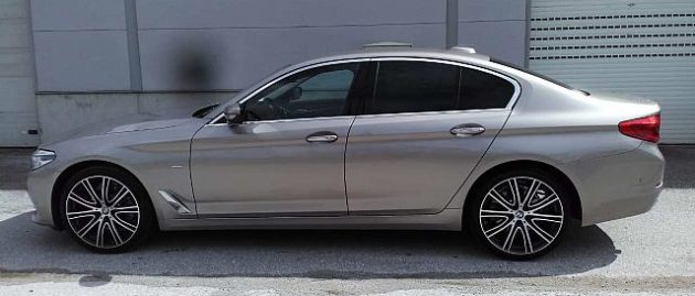 BMW serija 5: 520d xDrive Avt.luxury line najem